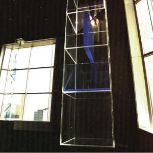 Licht reflectie zuilen, Amsterdam