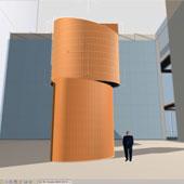 schetsontwerp BEN gebouw Centacon, Den Haag