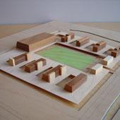 Schetsontwerp Appartementen Zwembad Sportaccomodatie, Wassenaar