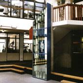 Lichtobject school, Rotterdam